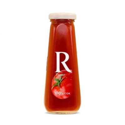 Сок Rich томат (стеклянная бутыль)